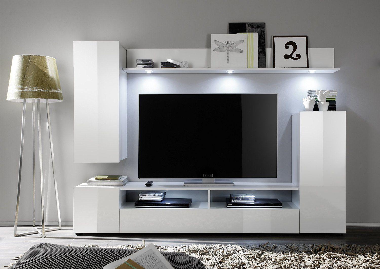 стенка в зал с телевизором