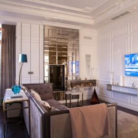 современная гостиная в квартире идеи интерьер