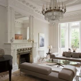современная гостиная в квартире идеи интерьера