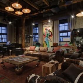 современная гостиная в квартире фото оформления