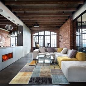 современная гостиная в квартире оформление идеи