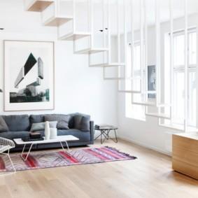 современная гостиная в квартире идеи фото