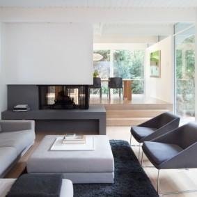 современная гостиная в квартире фото идеи
