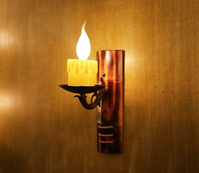 Настенный ночник-свеча советского производства