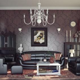 светильники для гостиной комнаты идеи виды