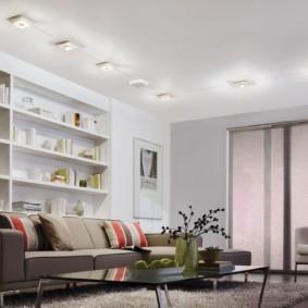 светильники для гостиной комнаты обзор