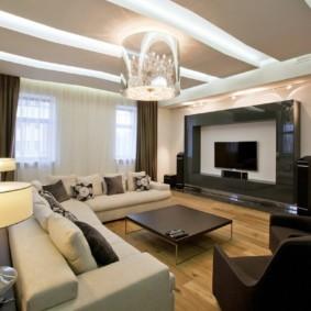 светильники для гостиной комнаты дизайн идеи