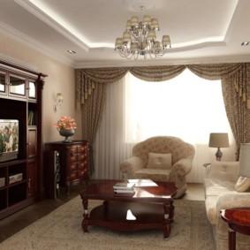 светильники для гостиной комнаты фото интерьера