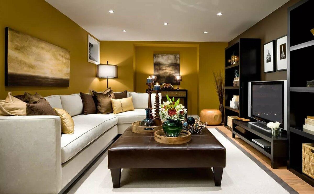 что дизайн гостиных комнат фото практически распространяется