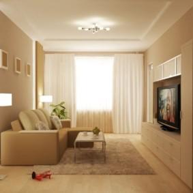 светильники для гостиной комнаты оформление