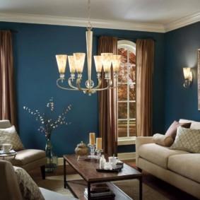 светильники для гостиной комнаты фото оформление