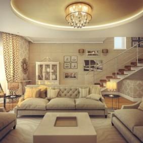 светильники для гостиной комнаты идеи вариантов