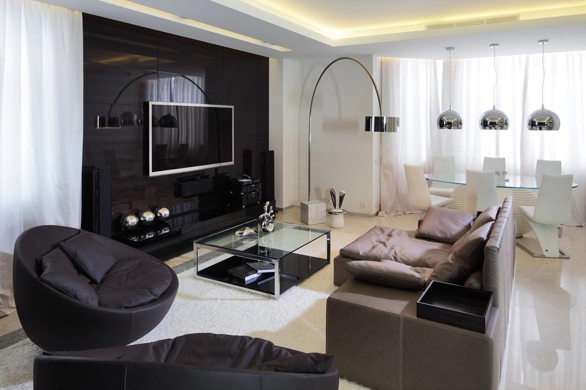 светильники для гостиной комнаты хай тек
