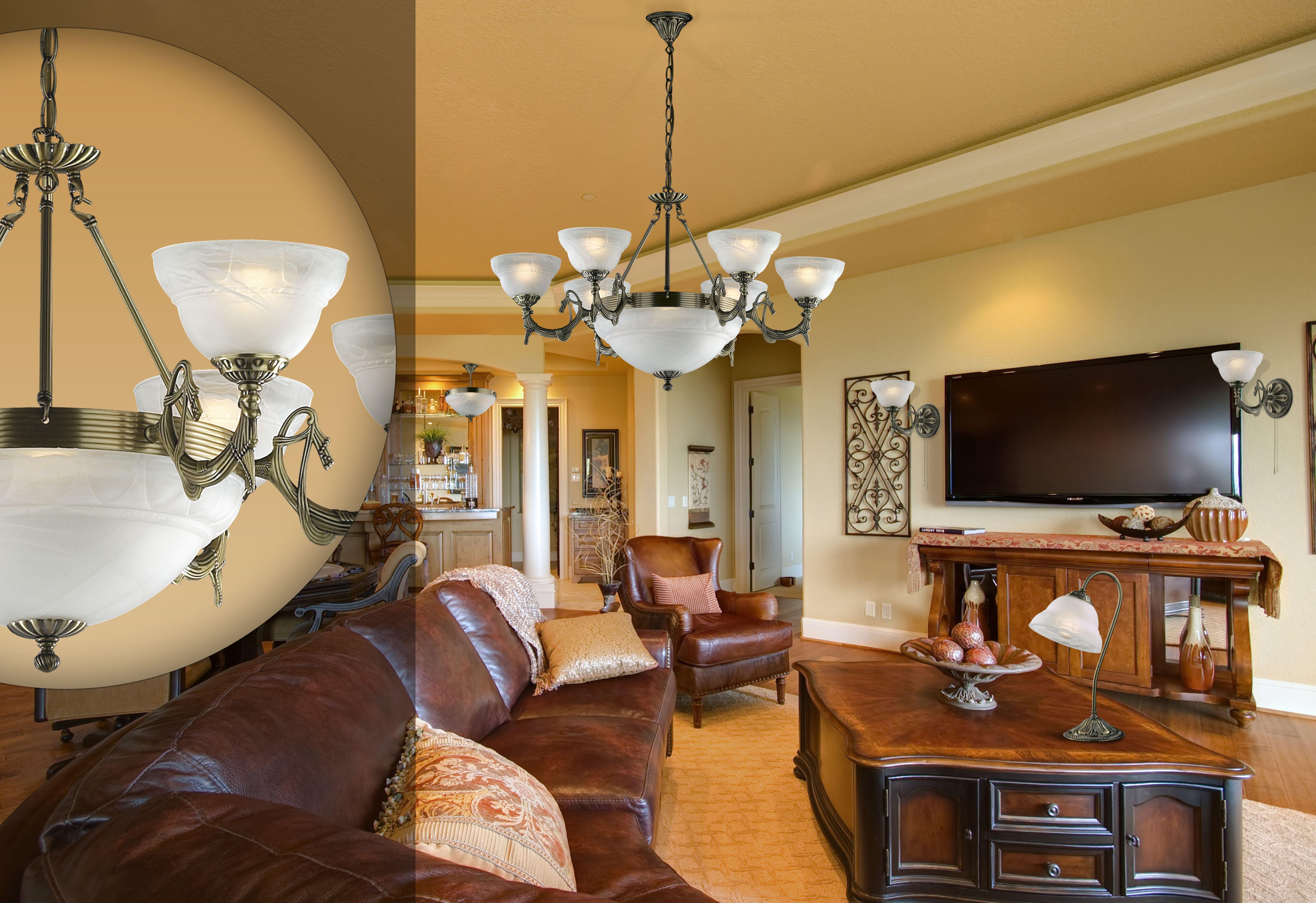 светильники для гостиной комнаты