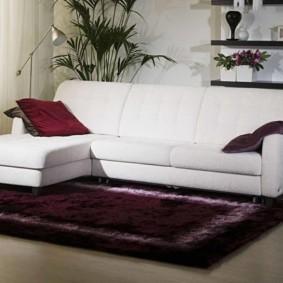 угловой диван в гостиной идеи оформления