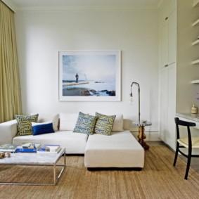 угловой диван в гостиной идеи вариантов