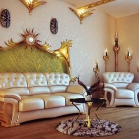 украшение углов в квартире дизайн фото