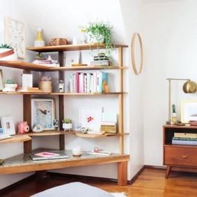 украшение углов в квартире идеи дизайна
