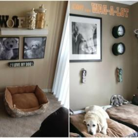 украшение углов в квартире идеи декор