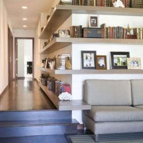 украшение углов в квартире оформление идеи