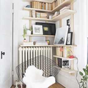 украшение углов в квартире идеи фото