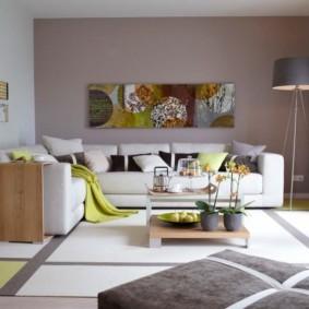 украшение углов в квартире виды дизайна