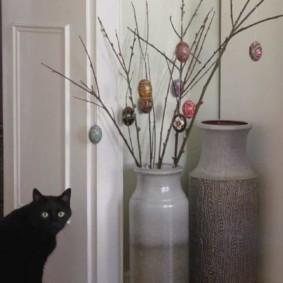 украшение углов в квартире виды декора