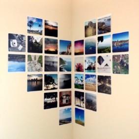 украшение углов в квартире фото идеи