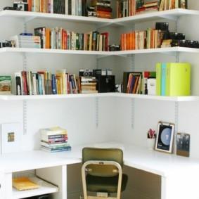 украшение углов в квартире фото дизайн