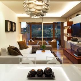 узкая гостиная в квартире идеи дизайн