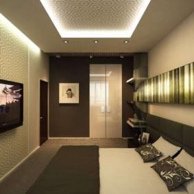 узкая гостиная в квартире интерьер