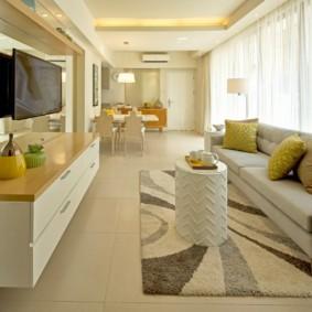 узкая гостиная в квартире оформление