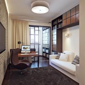 узкая гостиная в квартире оформление идеи