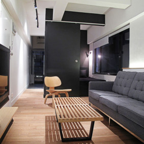 узкая гостиная в квартире идеи варианты