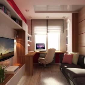 узкая гостиная в квартире обзор