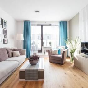 узкая гостиная в квартире виды дизайна