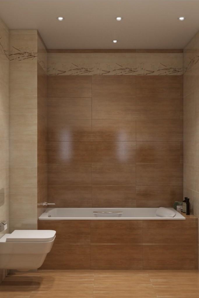 Интерьер ванной комнаты в стиле эко