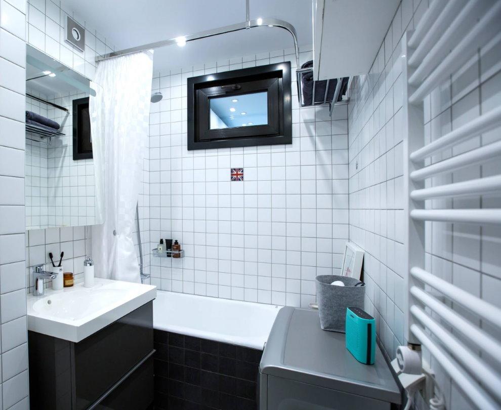 Интерьер ванной в современной однушке