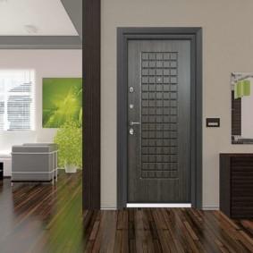 входные двери в квартиру фото декора