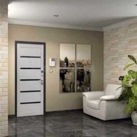 входные двери в квартиру виды декора