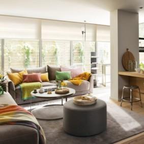дизайн малогабаритной квартиры виды декора