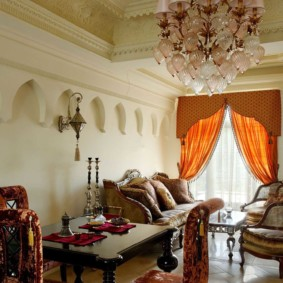 интерьер комнаты в восточном стиле идеи декор