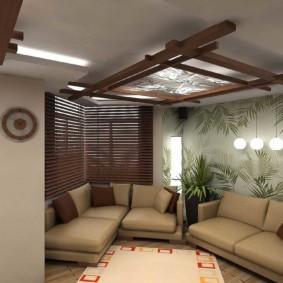 интерьер комнаты в восточном стиле варианты дизайна