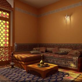 интерьер комнаты в восточном стиле варианты декора
