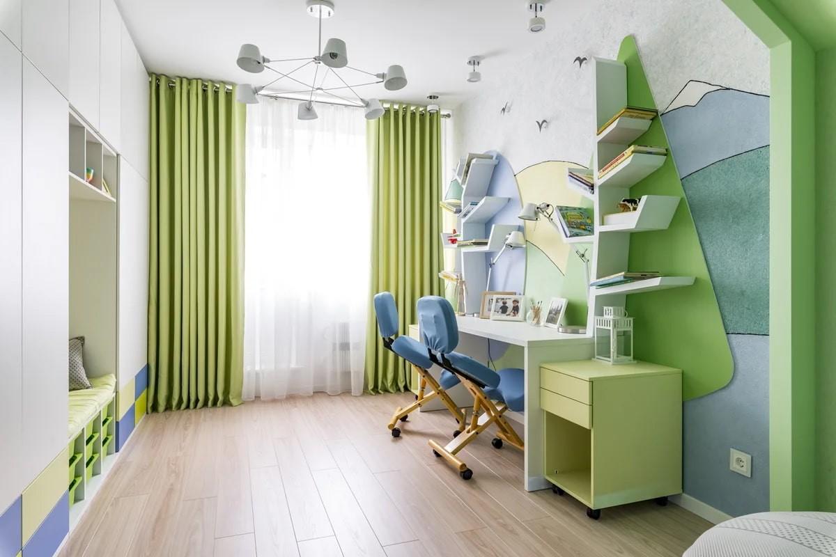 жидкие обои для интерьера детской комнаты
