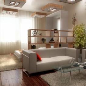 однокомнатная квартира для семьи с ребенком идеи варианты