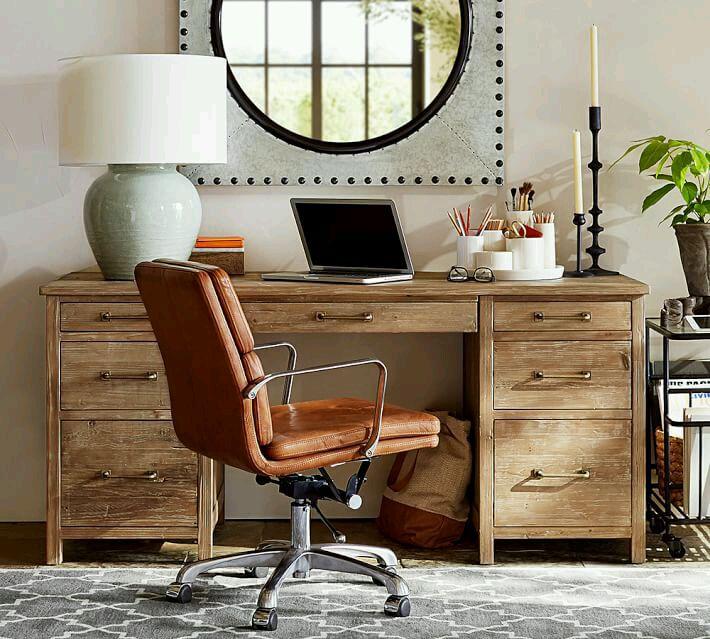 Деревянная модель письменного стола для дома и офиса