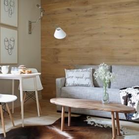 дизайн маленького зала и гостиной