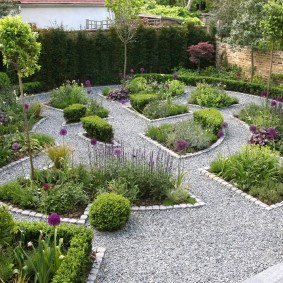 Дизайн сада в классическом стиле