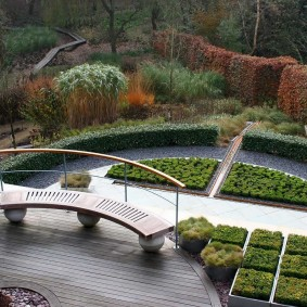 Дизайн сада в регулярном стиле